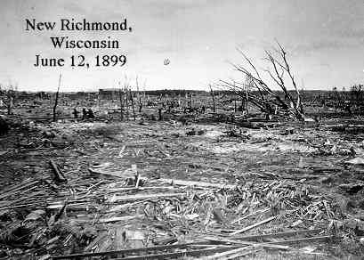 New Richmond, Wisconsin after the tornado